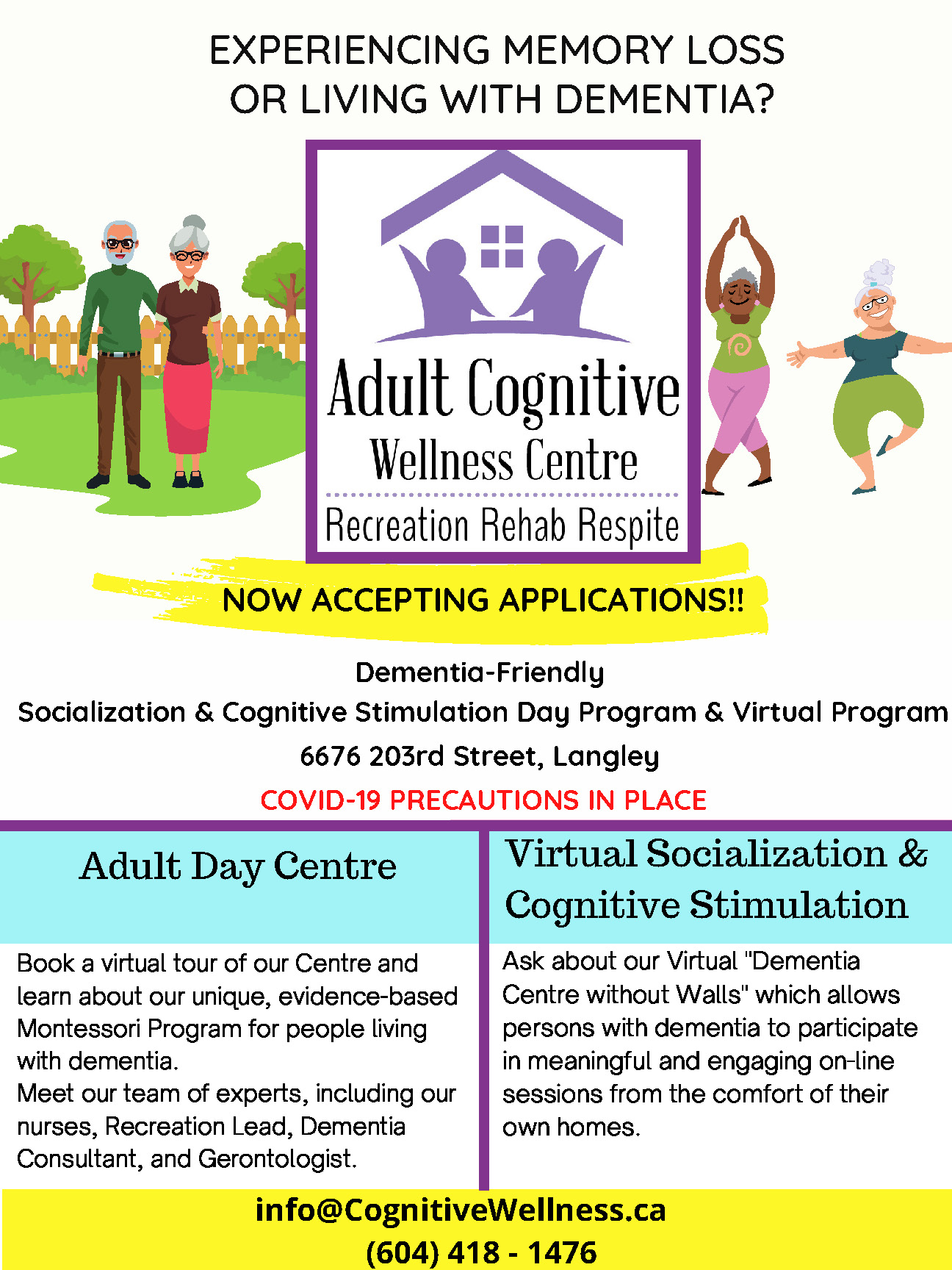 ACWC Now Accepting Applications POSTER